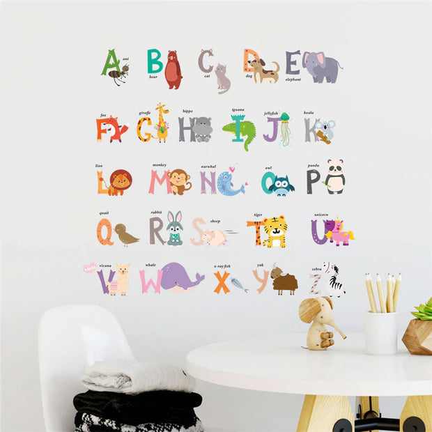 ABCD Baby Nursery Wall Stickers