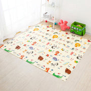 ABCD Reversible Baby Play Mat Front view