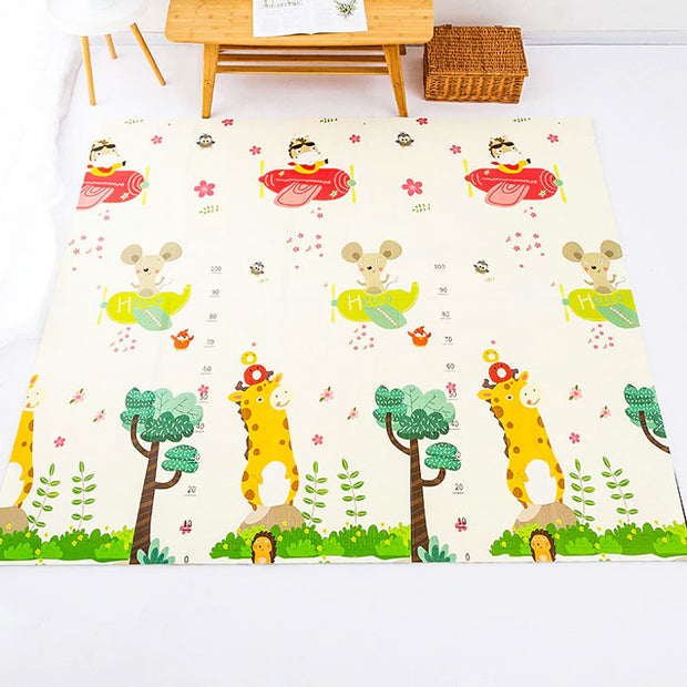 ABCD Reversible Baby Play Mat Other side view