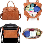 Aaryaa Carry All Nappy Bag - Tan