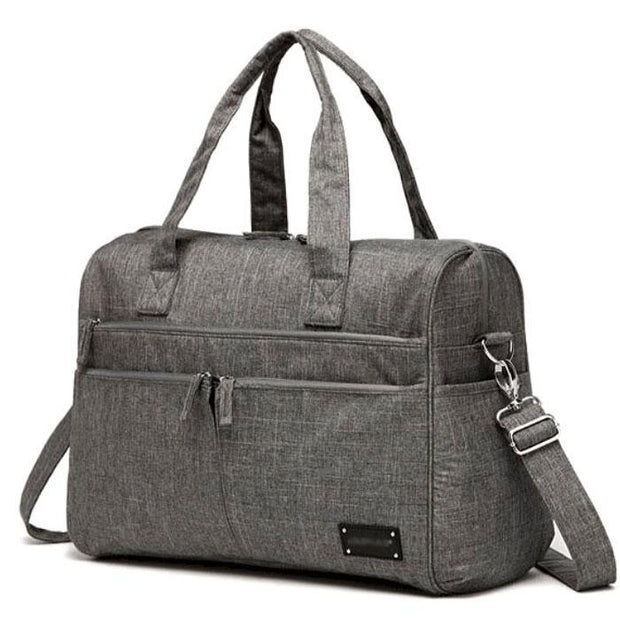 Abbey Carry All Nappy Bag – Grey