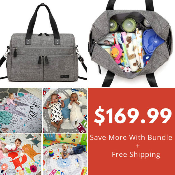 Addie Nappy  Bag & Baby Playmat