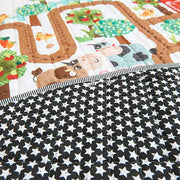 Amazing Maze Baby Play Mat Backside