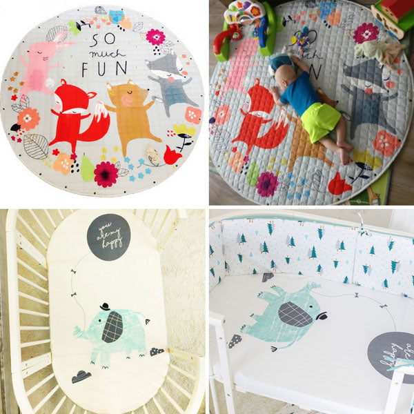 Animal Friends + Cot Sheets