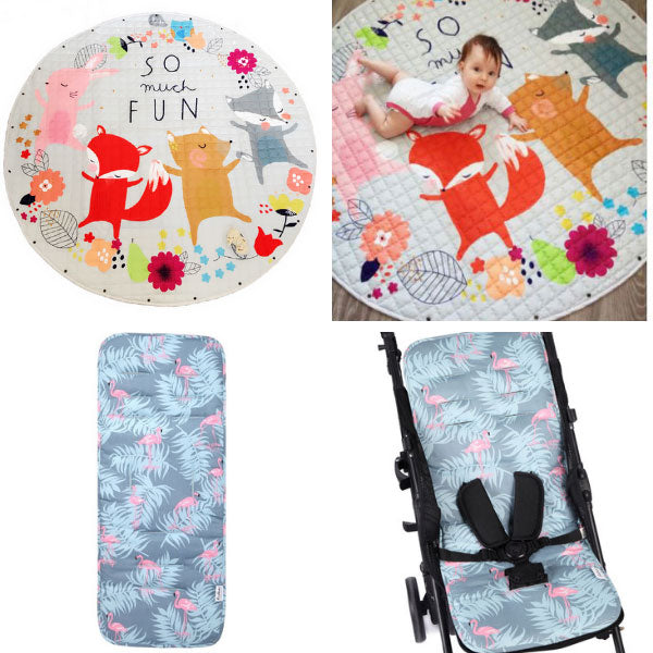 Animal Friends + Pram Liner