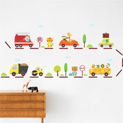 Animal Road Kids and baby room Nursery Wall Sticker