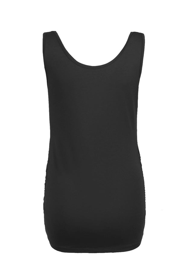 Adele Nursing Top - Black
