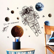 Astronaut Nursery Wall Sticker 1