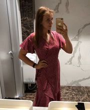 Ava Rose Maternity Wrap Dress