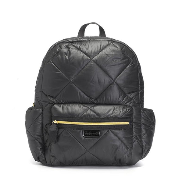 Babymel Luna Ultra Lite Black Quilt Nappy Bag