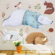 Bear & Friends Baby Nursery Wall Sticker front