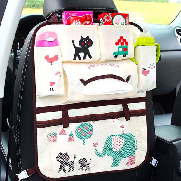 Big Elephant Car Seat Organiser