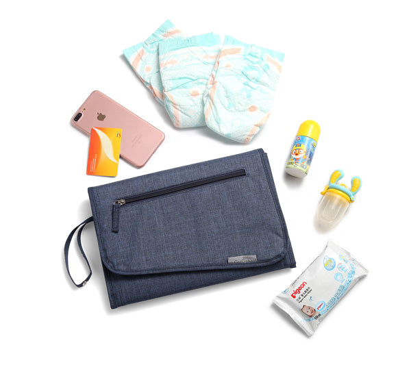 Blue Nappy Wallet