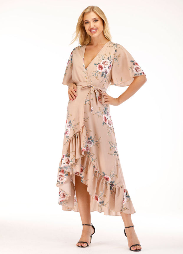 Carlee Maternity Wrap Dress