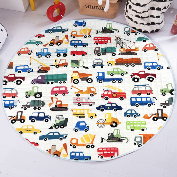 Cars Baby Play Mat Front