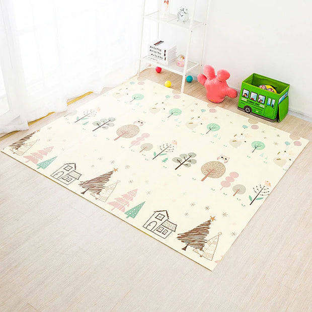 City Roads Reversible Baby Play Mat backside 2