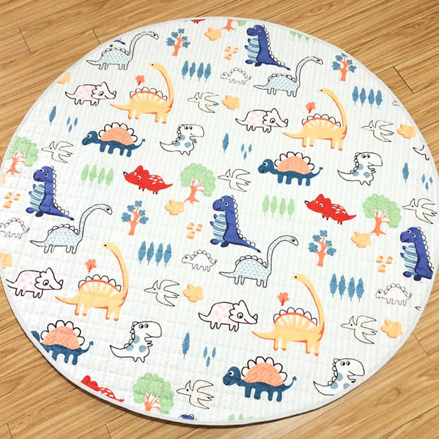 Colorful Dino Baby Play Mat main