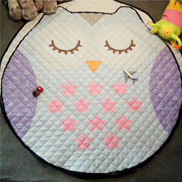 Cute Owl Baby Playmat