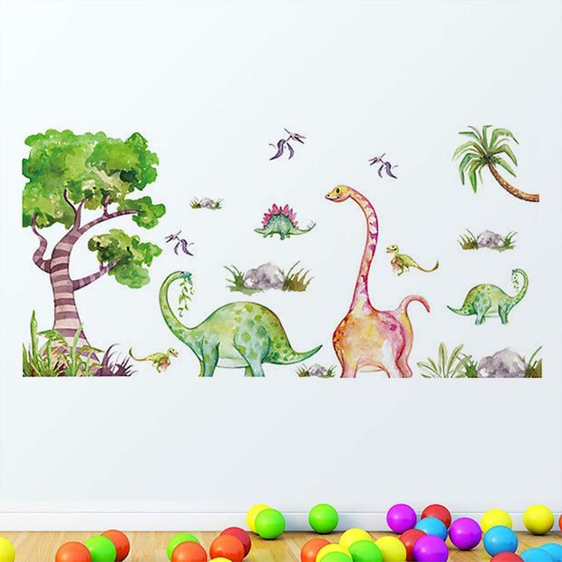 Dinosaurs Baby Nursery Wall Stickers main