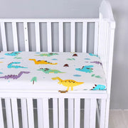 Dinosaurs Fitted Cot Sheet
