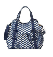 Elastic Pocket Tote with patent trim - OIOI