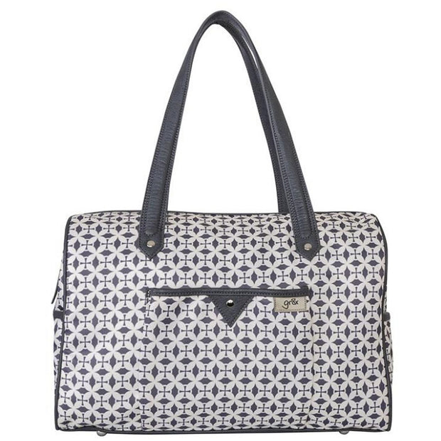 Ella Carry All Dove Grey Nappy Bag - Gr8x