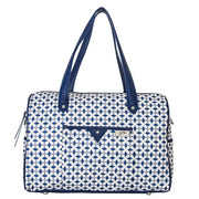 Ella Carry All Dove Twilight Blue Nappy Bag - Gr8x