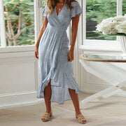 Emma Maternity Wrap Dress