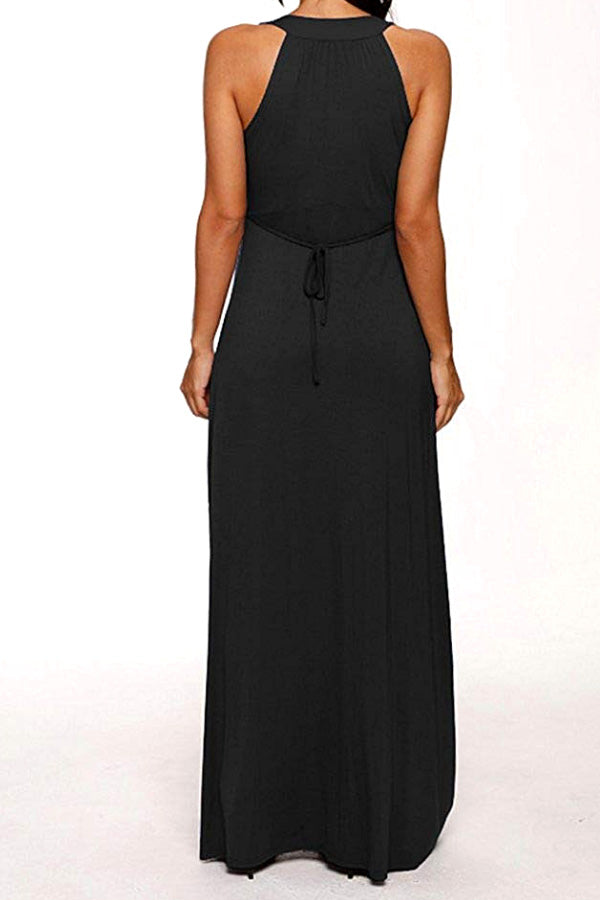 Florence - Black Maternity Gown Dress