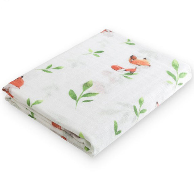 Fox Baby Swaddle Wrap Fold