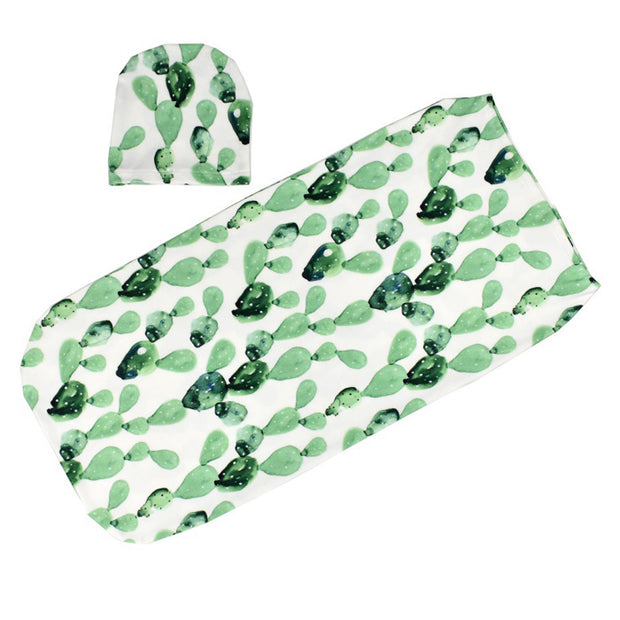Green Baby Swaddle Sack