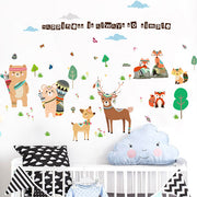 Happiness is always so simple baby nursery wall sticker