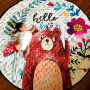 Hello Bear Baby Play Mat