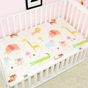 Jungle Fitted Cotton Baby Cot Sheet