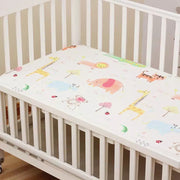 Jungle Fitted Cotton Baby Cot Sheet front