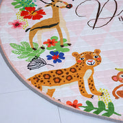 Jungle Safari Baby Play Mat Side Close up