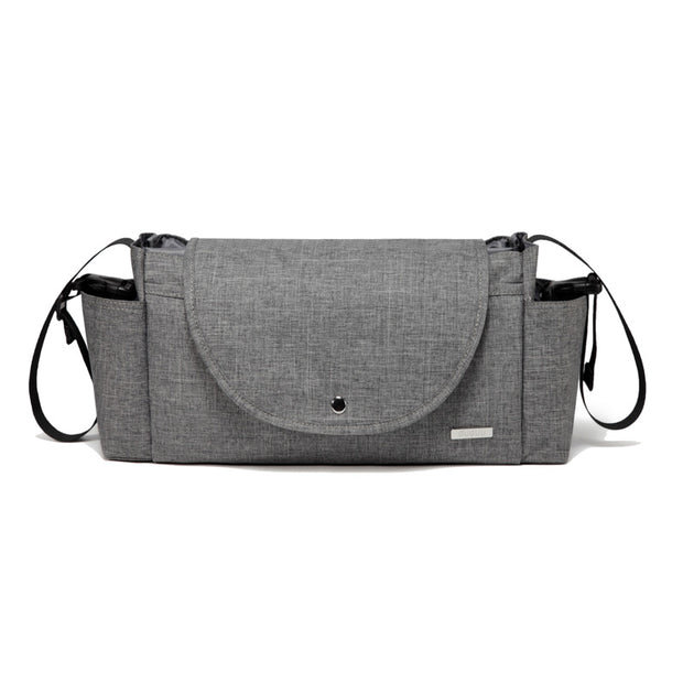 Kayla Grey Pram Caddy front