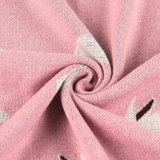 Little Bunny Pink Baby Blanket fabric