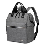 Melbourne carry all backpack nappy bag side - grey