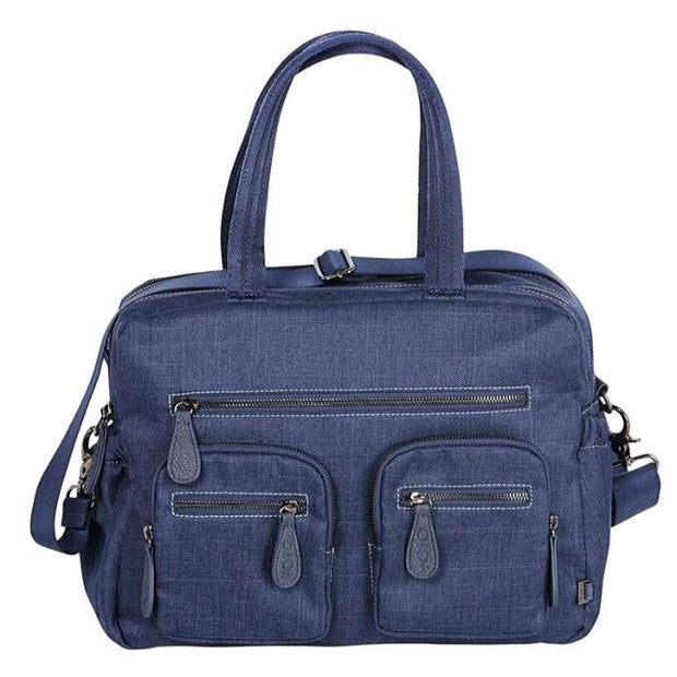 OIOI Carry All Denim Nappy Bag