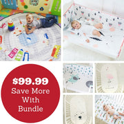 On The Move + Cot Sheets Bundle