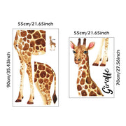 Patch Giraffe Nursery & Kids Room Wall Sticker Size 2
