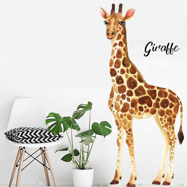Patch Giraffe Nursery & Kids Room Wall Sticker