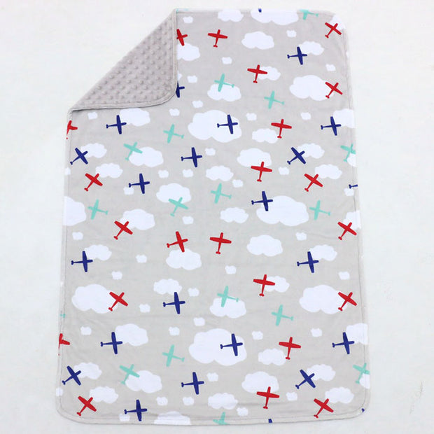 Planes Baby Blanket