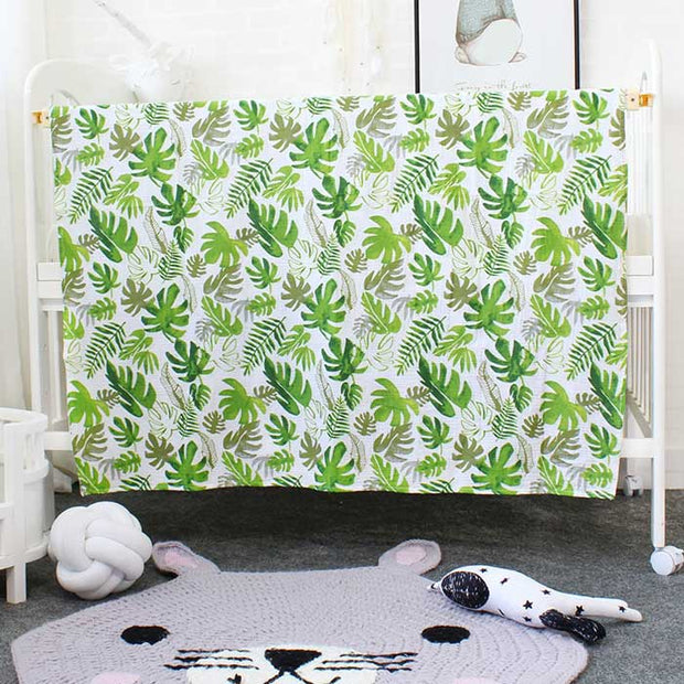 Plant Baby Swaddle Wrap Full