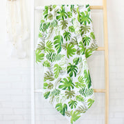 Plant Baby Swaddle Wrap on Ladder