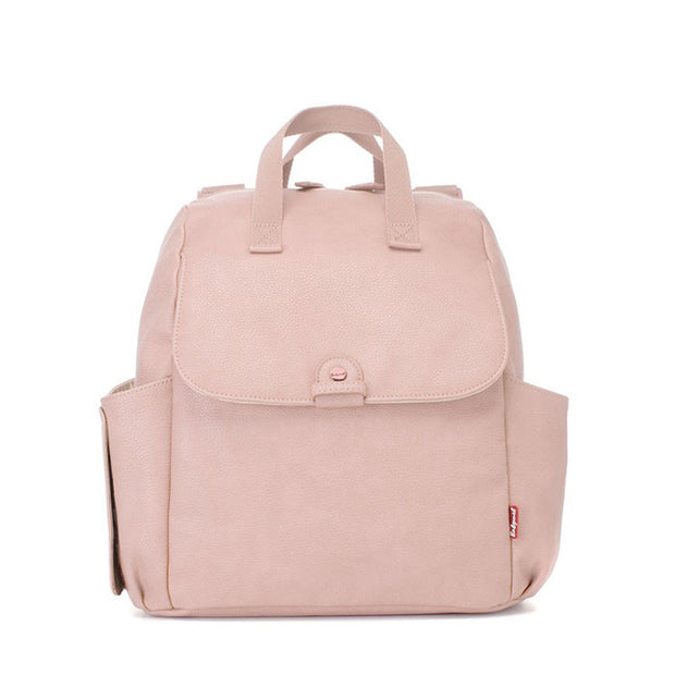 Robyn Convertible Blush Nappy Bag Backpack Vegan Leather