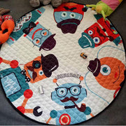 Six Aliens Baby Play Mat
