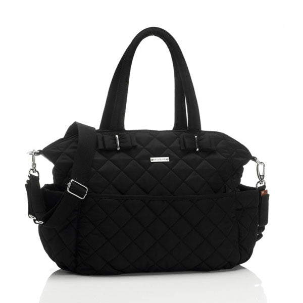 Storksak Bobby Nappy Bag Black