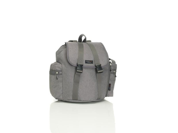 Storksak Travel Nappy Bag Backpack Grey